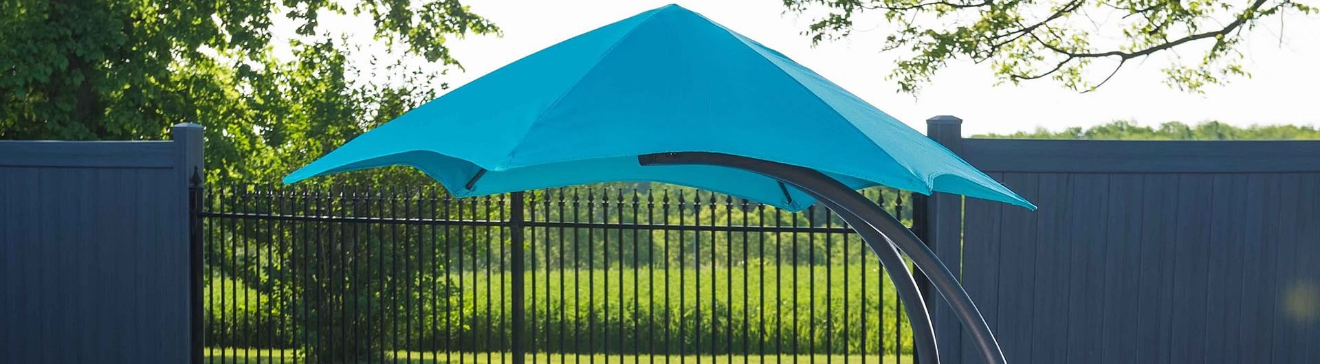 Vivere Umbrella blue