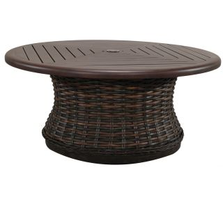 Product Name: Catalina Round Woven Coffee Table Base