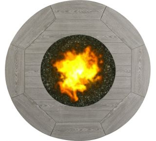 Product Name: Hampton 48 Round Firepit Top