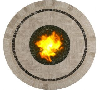 Product Name: Nevis 36 Round Fire Pit Top