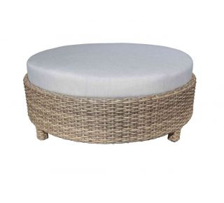 "Product Name: Riverside Sectional 48"" Round Ottoman"