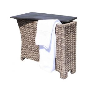Product Name: Riverside Sectional Storage Wedge Table