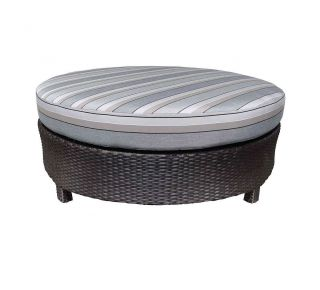 "Product Name: Curved Sectional 48"" Round Ottoman"