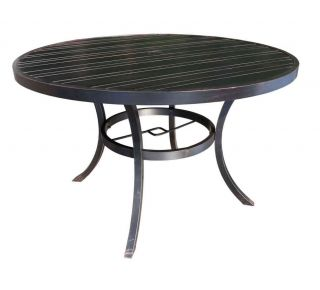 "Product Name: Milano 54"" Round Table"