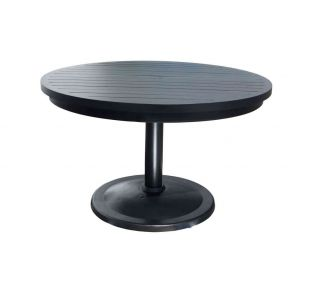 "Product Name: Monaco 56"" Pedestal Table"