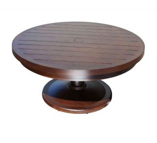 "Product Name: Monaco 56"" Pedestal Coffee Table"