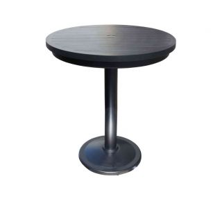 "Product Name: Monaco 56"" Pedestal Bar Table"