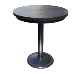 "Product Name: Monaco 42"" Pedestal Counter Table"