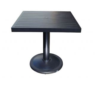 "Product Name: Monaco 36"" Square Pedestal Table"