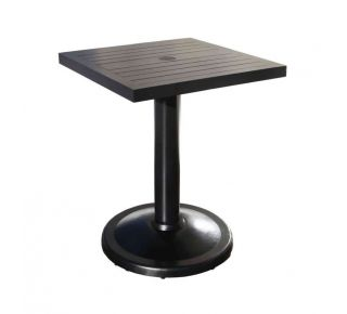 "Product Name: Monaco 24"" Square Pedestal Table"