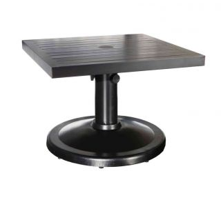 "Product Name: Monaco 24"" Pedestal Coffee Table"