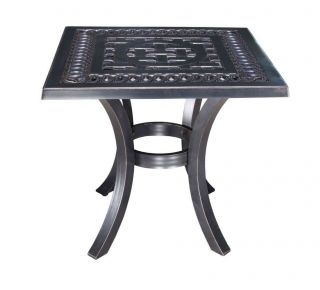 "Product Name: Pure 21"" Square Side Table"