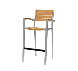 Product Name: New Mirage Bar Chair With Arms