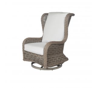 Product Name: Bellevue Wingback Swivel Glider