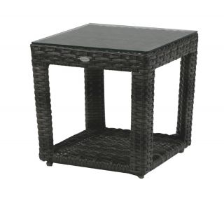 Product Name: Portfino End Table With Glass